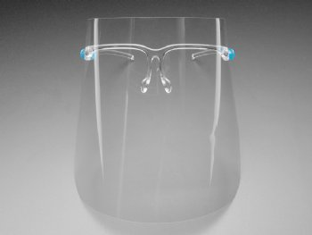 Reusable face shield, dental shield, face shield glasses